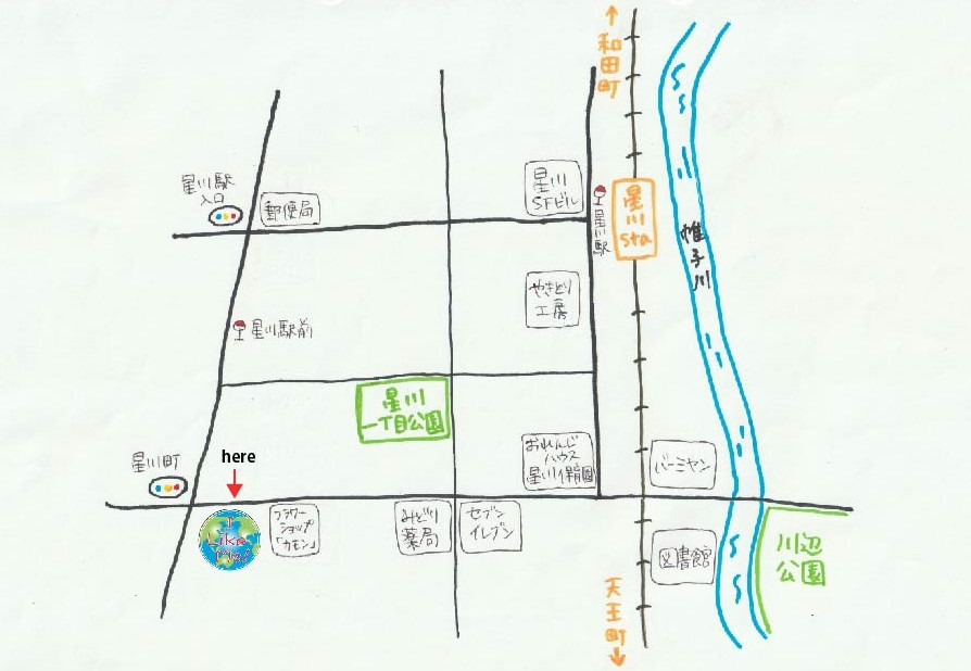 星川map